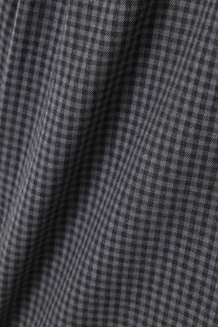 GINGHAM COTTON CASHMERE