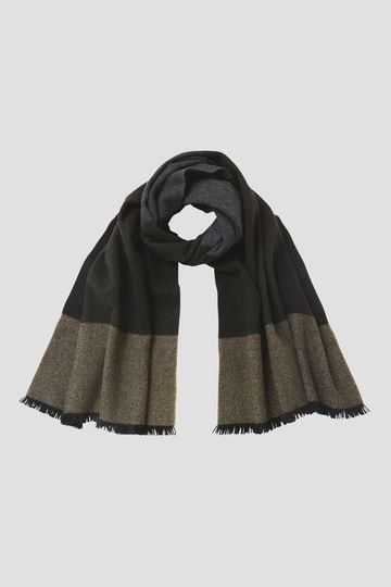 BLOCK CHECK SCARF_271