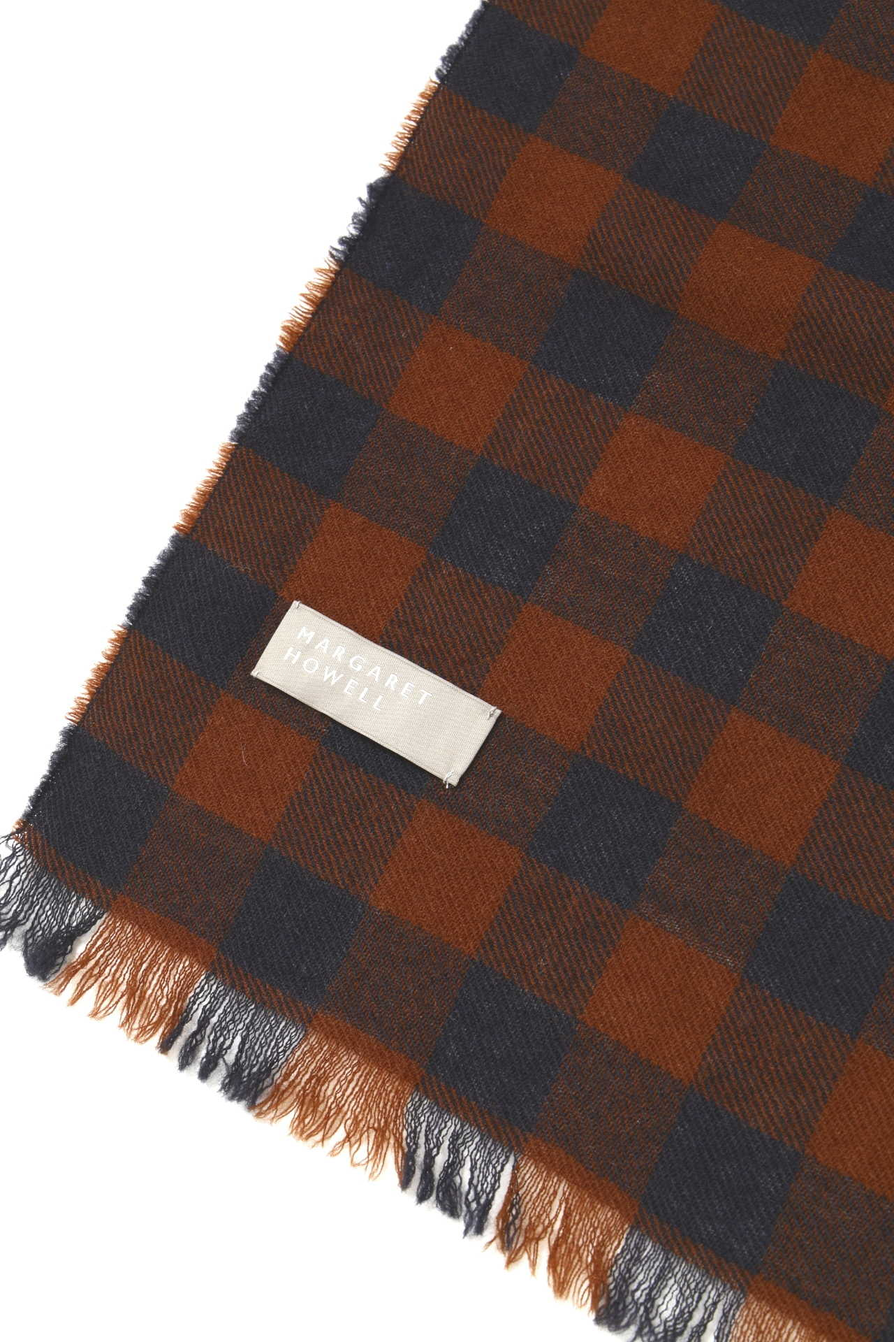 GINGHAMCHECK SCARF4