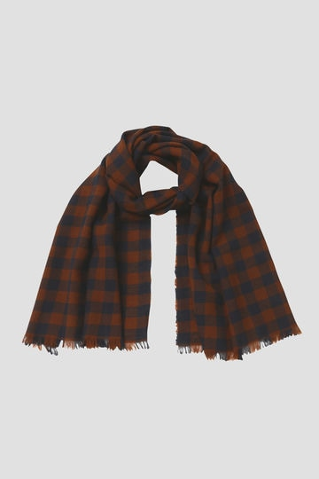 GINGHAMCHECK SCARF_154
