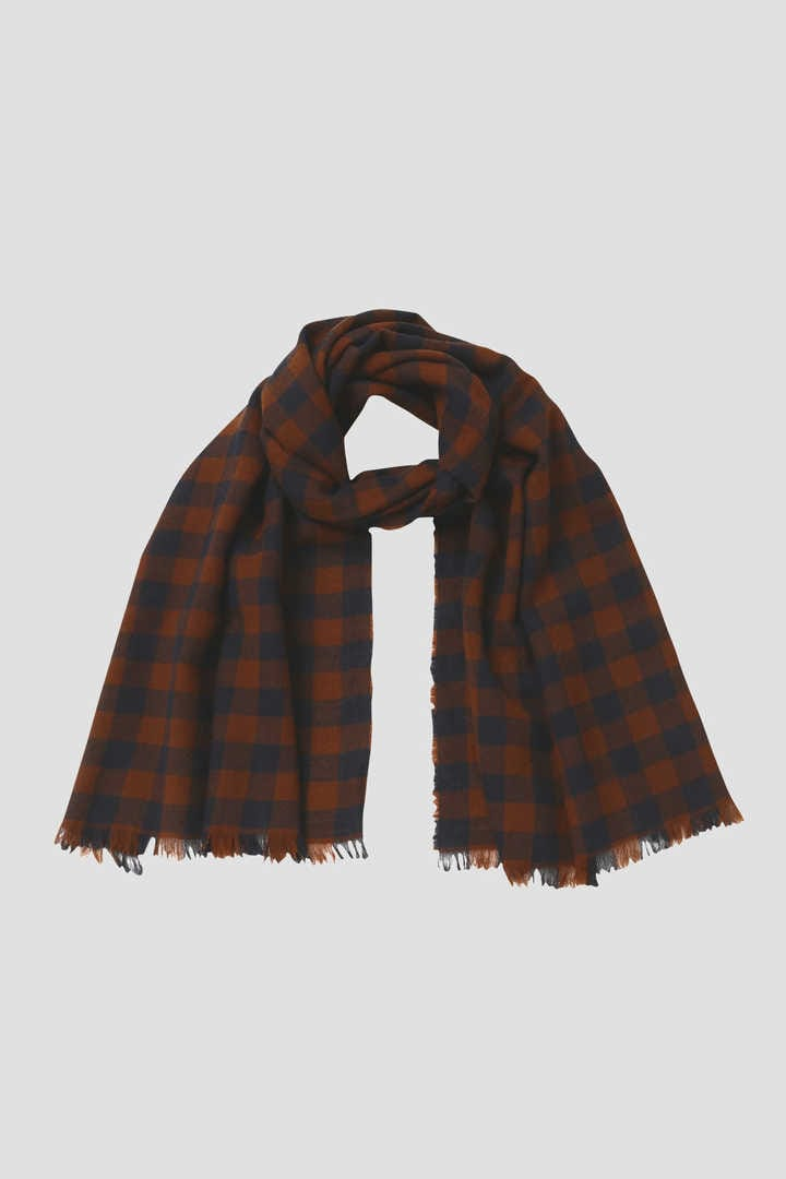 GINGHAMCHECK SCARF1