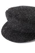 BRONTE / SHIPPER CAP HARRIS TWEED HERRINGBONE