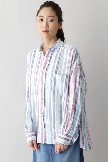 [別注]TICCA / リネン スクエアビッグシャツ
