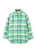 [別注]LUXLUFT / リネンチェックシャツ