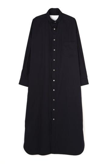 [別注]TICCA / スクエアビッグロングシャツドレス