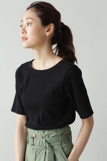 LUXLUFT / 針抜きワイドリブTシャツ