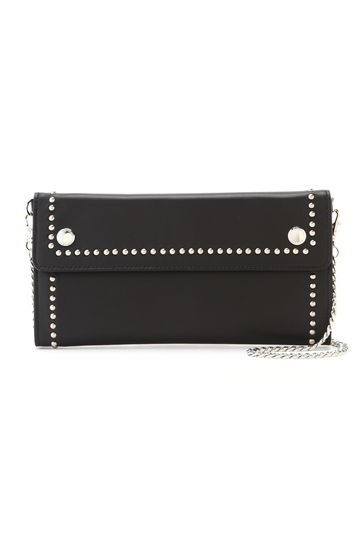 J&M DAVIDSON / TRAVEL POUCH WITH STUDS