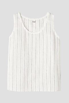 LINEN STRIPE LOUNGE WEAR