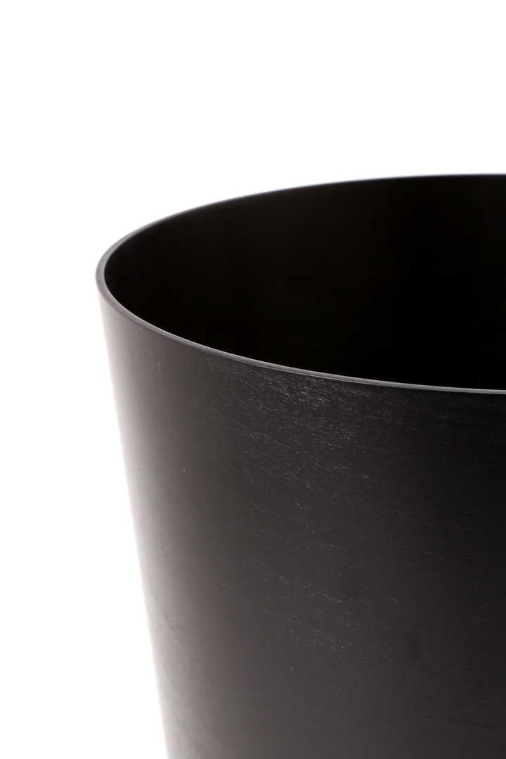 SAITO WOOD BLACK WOODEN BUCKET LARGE