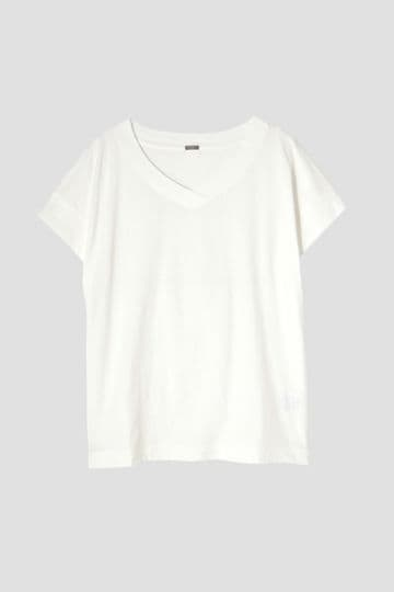 COTTON V NECK T