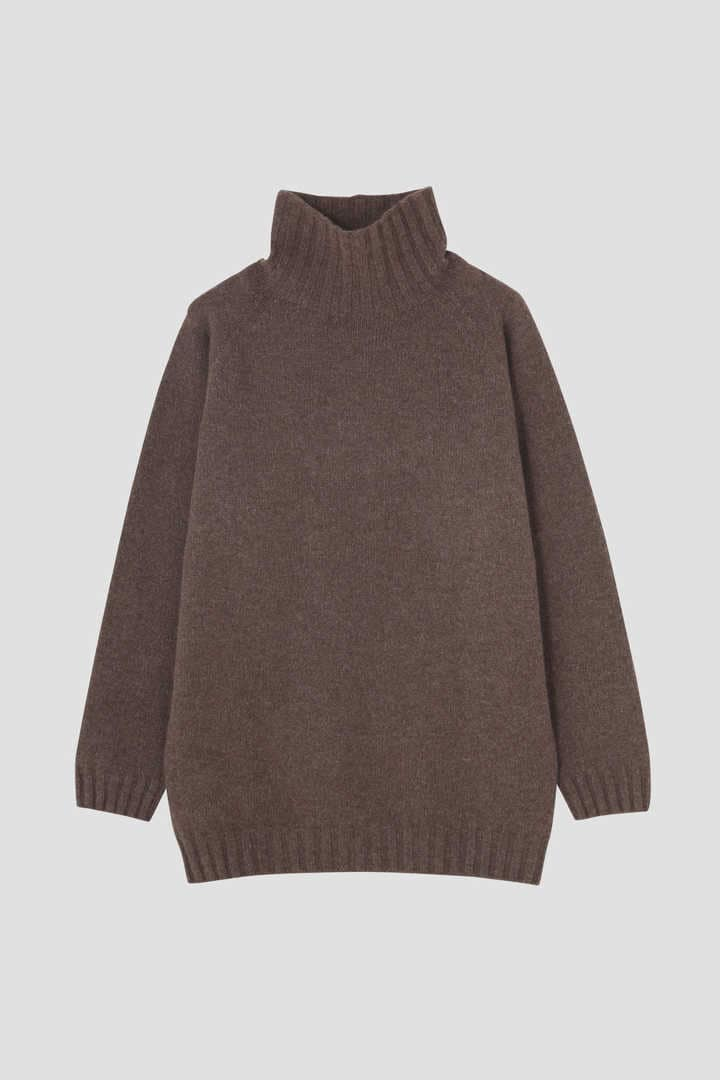 【&Premium別注】CASHMERE ROLL NECK KNIT