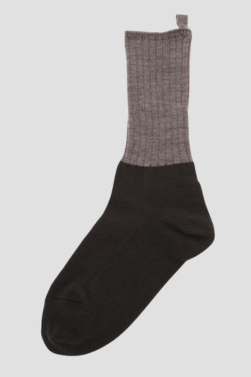 WOOL LOOP BACK ROOM SOCK