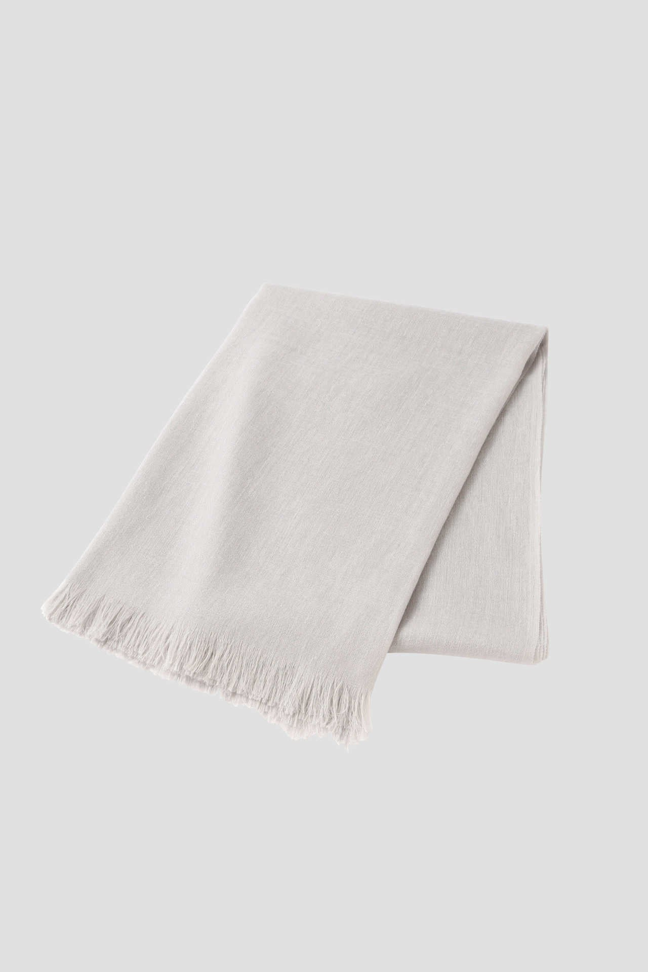 LINEN CASHMERE THROW