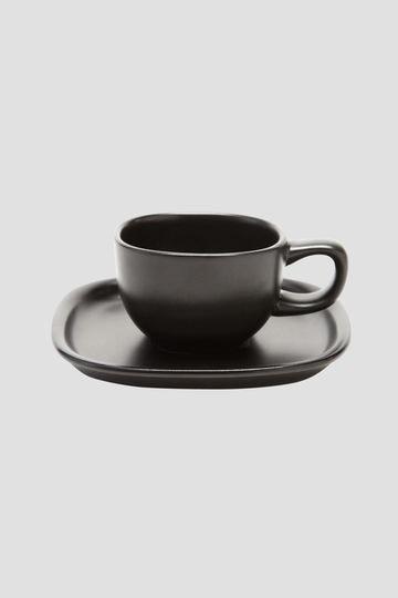 SORI YANAGI CERAMIC COFFEE CUP & SAUCER