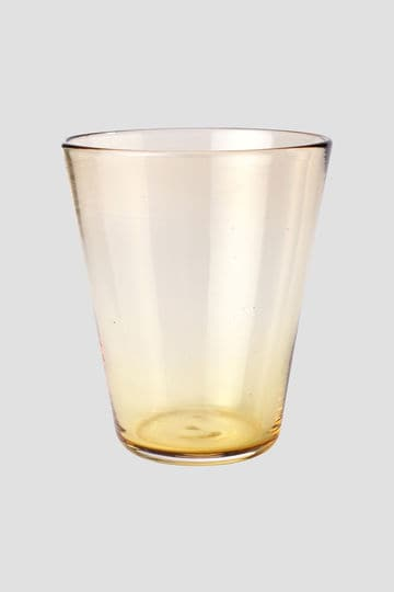 BLOWN GLASS WATER TUMBLER_null