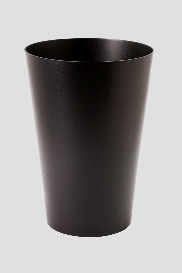 BLACK WOODEN BUCKET LARGE1