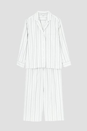 TONAL STRIPE COTTON PJ