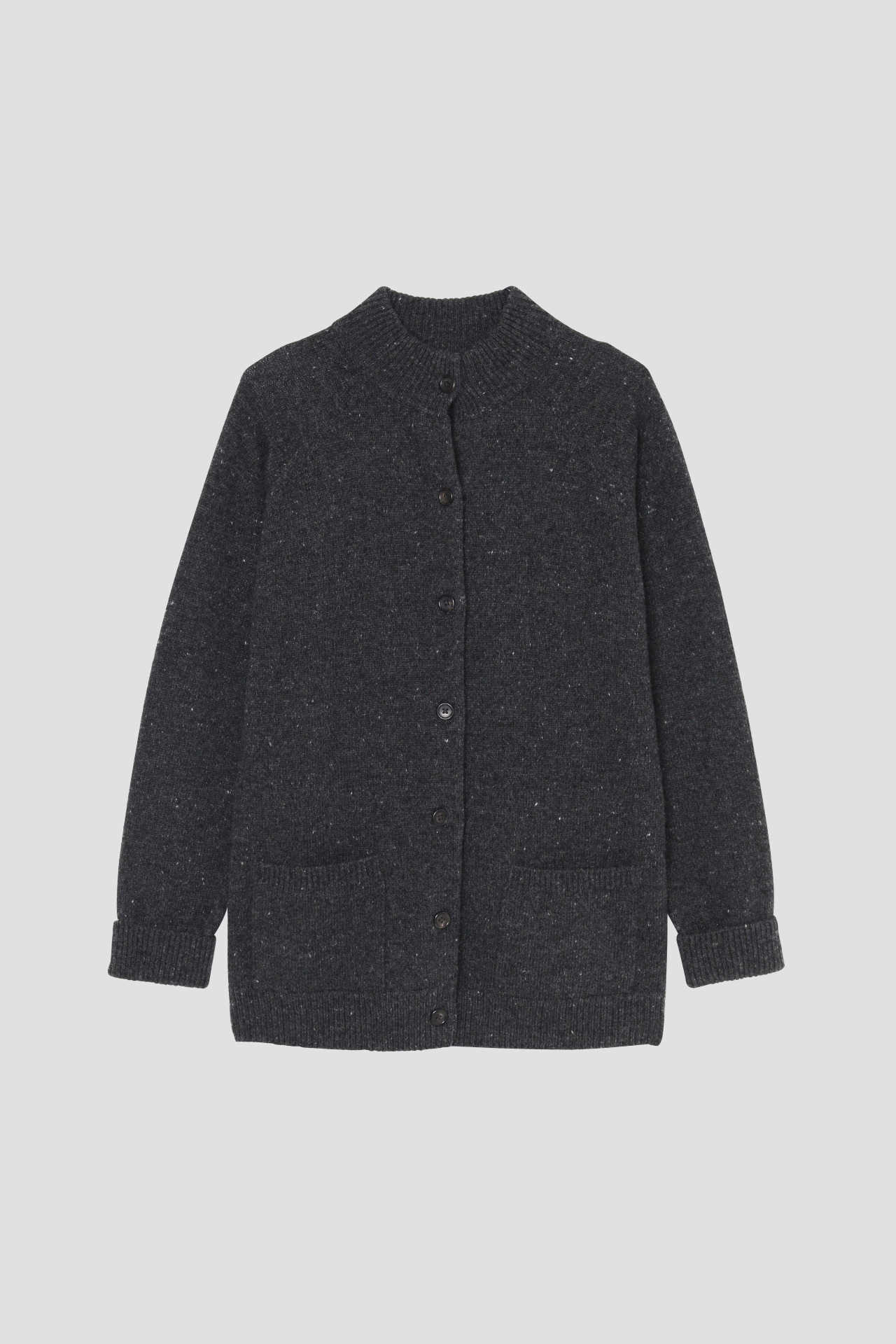 DONEGAL WOOL CASHMERE CARDIGAN4