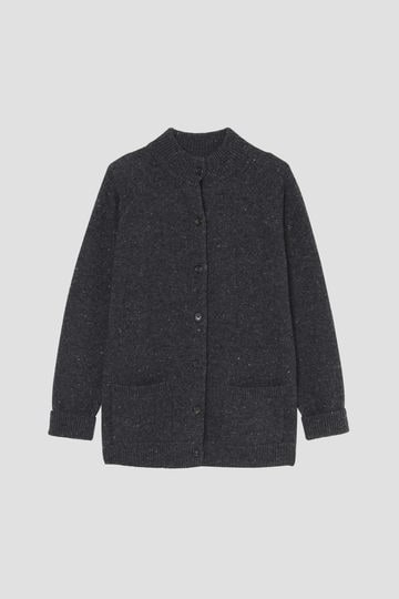 DONEGAL WOOL CASHMERE CARDIGAN_023