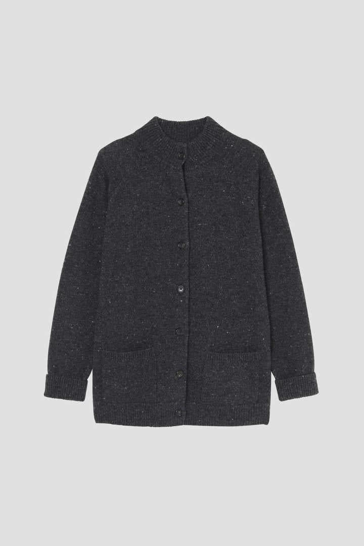 DONEGAL WOOL CASHMERE CARDIGAN1
