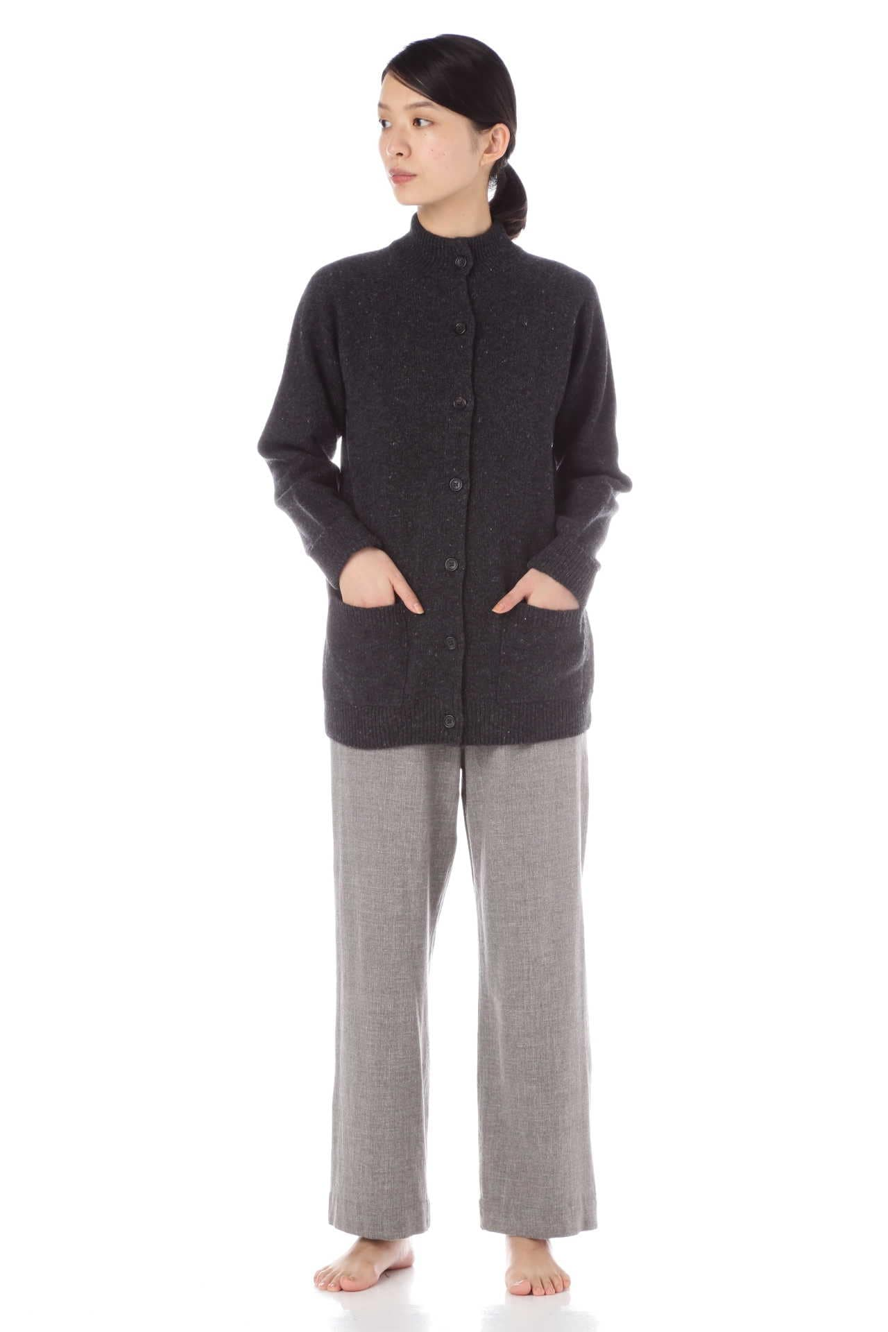 DONEGAL WOOL CASHMERE CARDIGAN6
