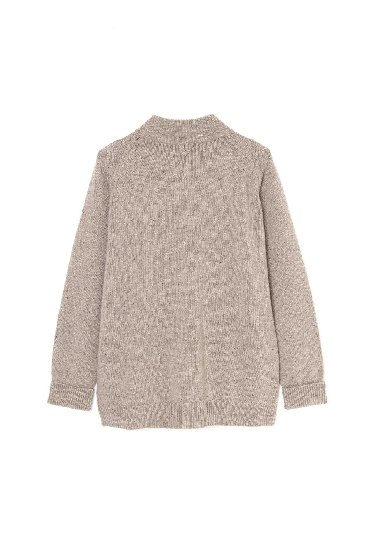 DONEGAL WOOL CASHMERE CARDIGAN5