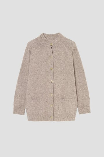 DONEGAL WOOL CASHMERE CARDIGAN_042