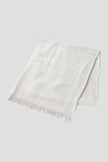 LINEN COTTON HERRINGBONE THROW