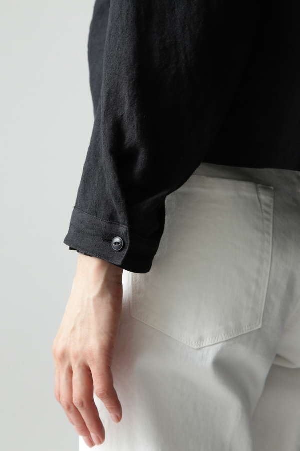 ラミーリネンカーデジャケット