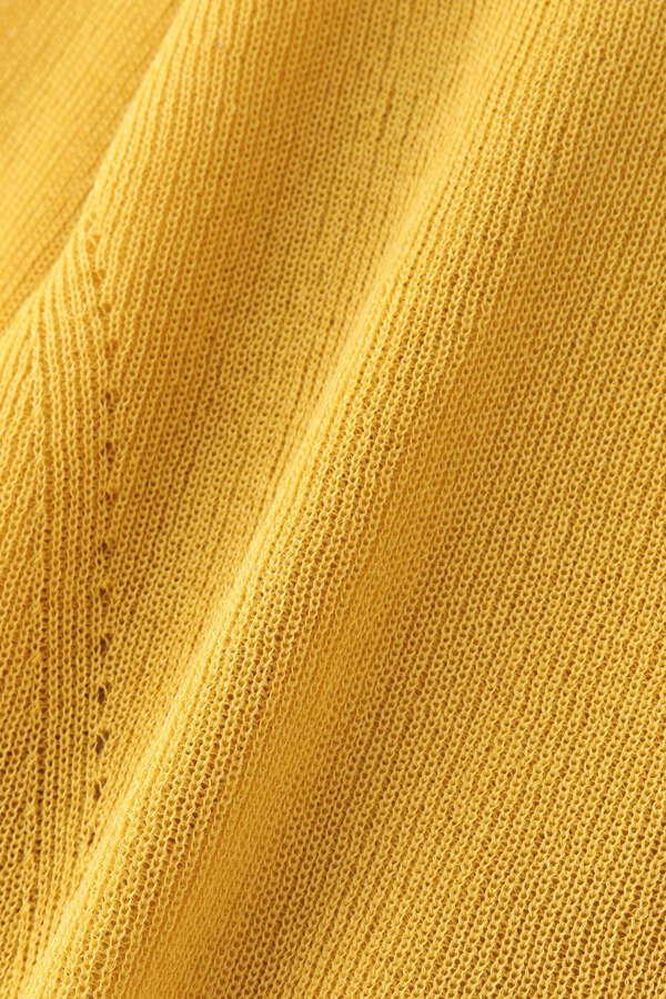 畦編みカーディガン