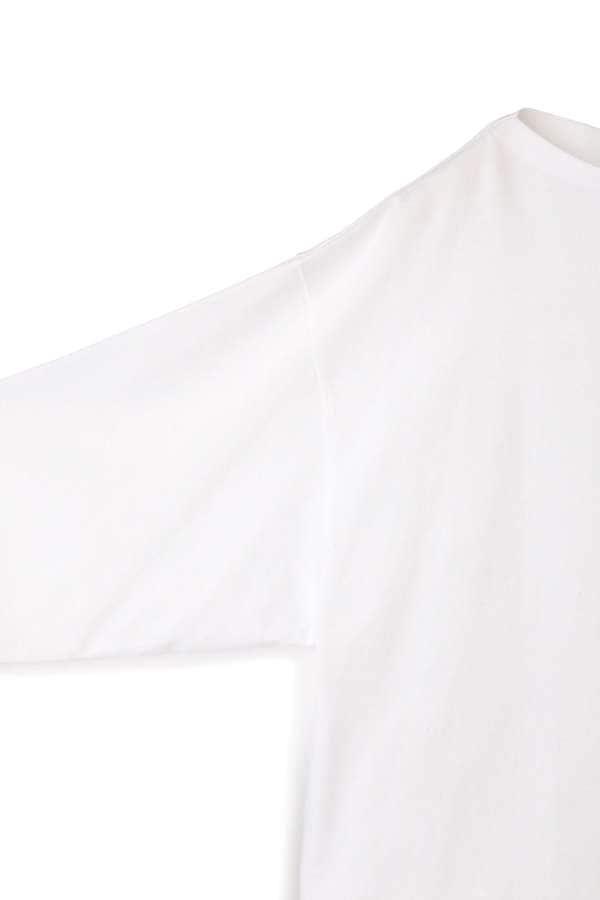 シャツテールロングTシャツ