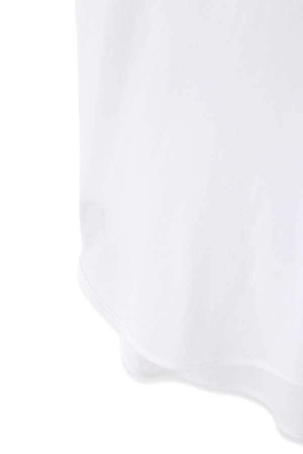 クレープジャージフレンチスリーブTシャツ