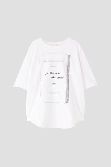 ムッシュプリントTシャツ