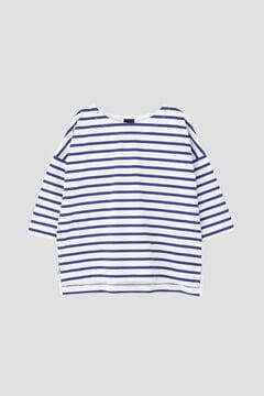 DRY-X天竺ボーダーTシャツ