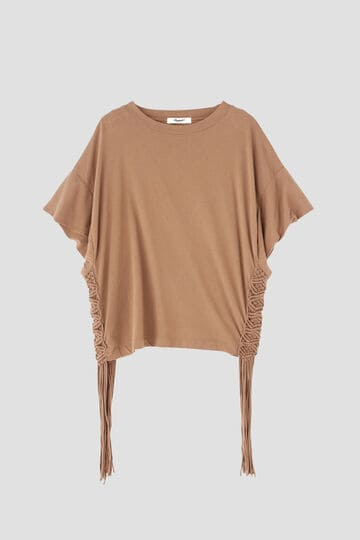 マクラメポイントTシャツ