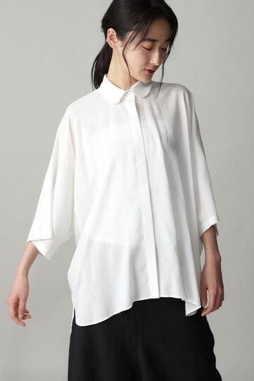 丸襟オーバーシャツ