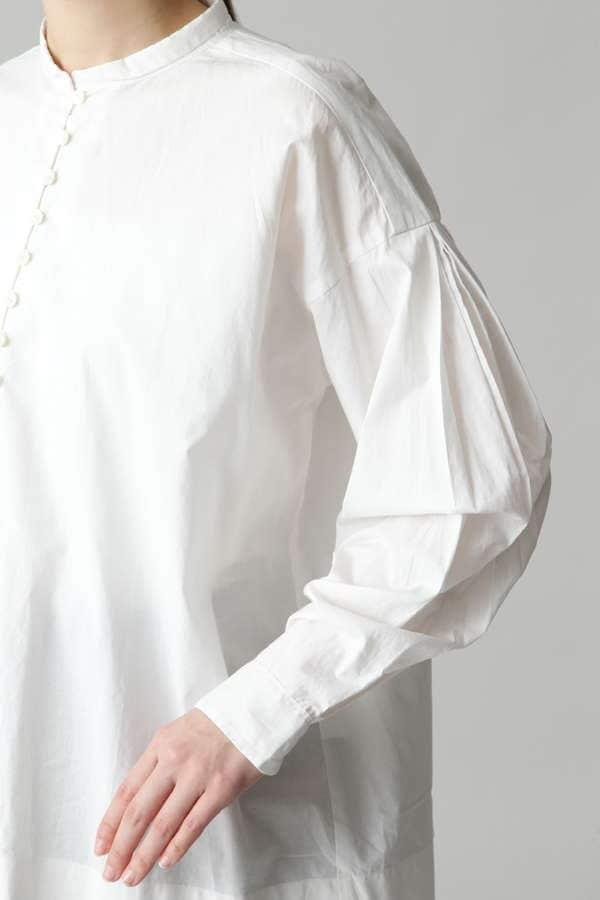 ダブルタック袖ブラウス