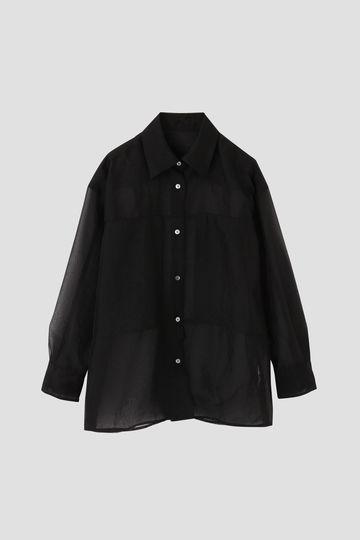 リンクルオーガンジーシャツ