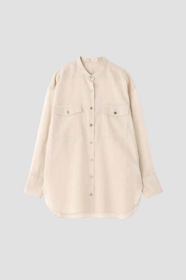 ボイルオーガンジーシャツ