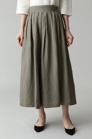ダブルタックキュロットスカート
