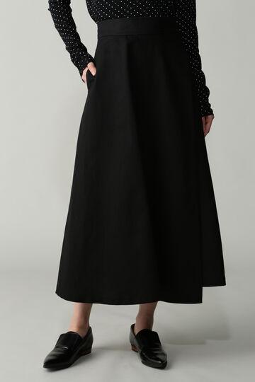 コットン/リネンツイルスカート