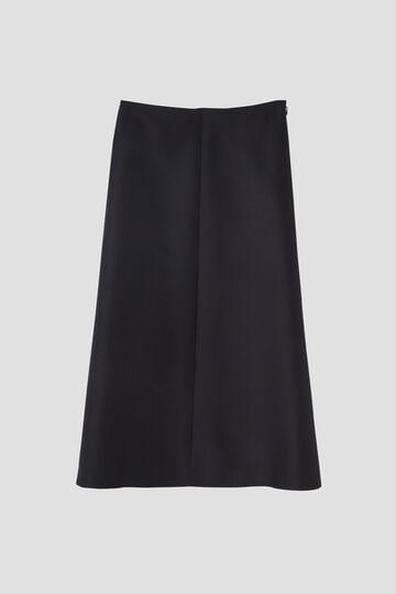 シルク混ツイルスカート