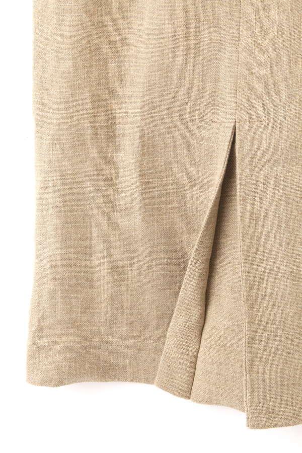 HEAVY LINENタイトスカート