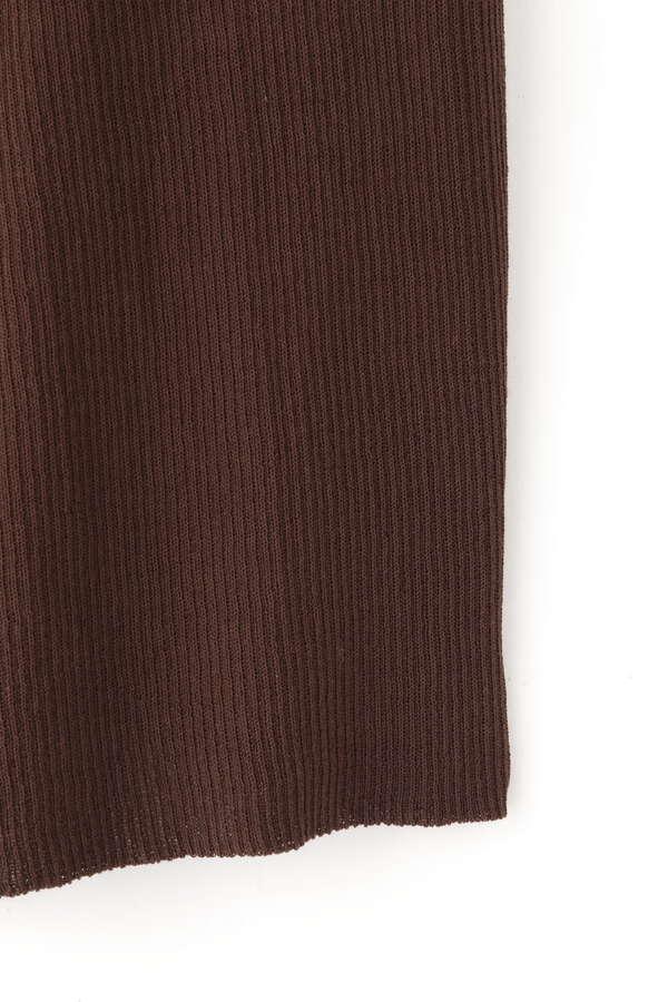 【セットアップ対象】柄編みニットスカート
