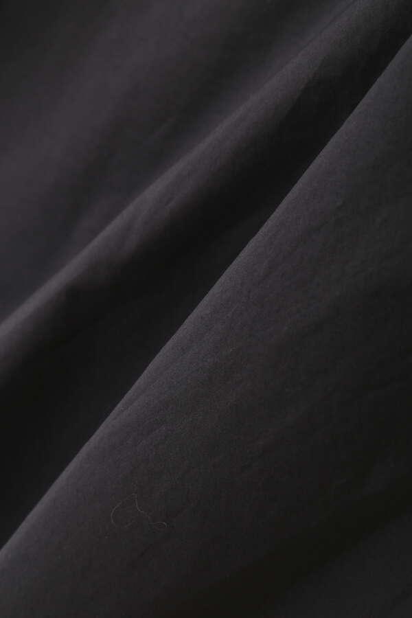 ペーパーナイロンフードシャツ
