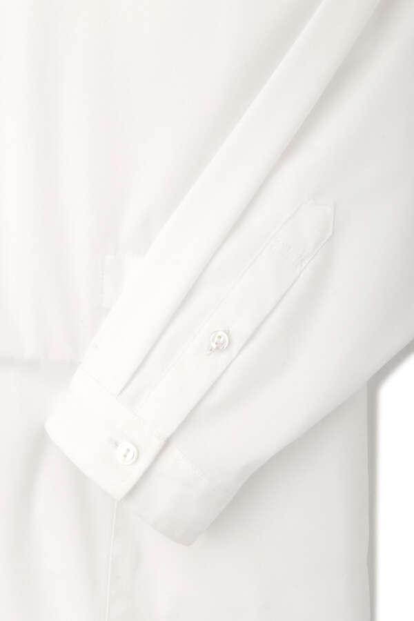 FINESOLO ブロードロングシャツ