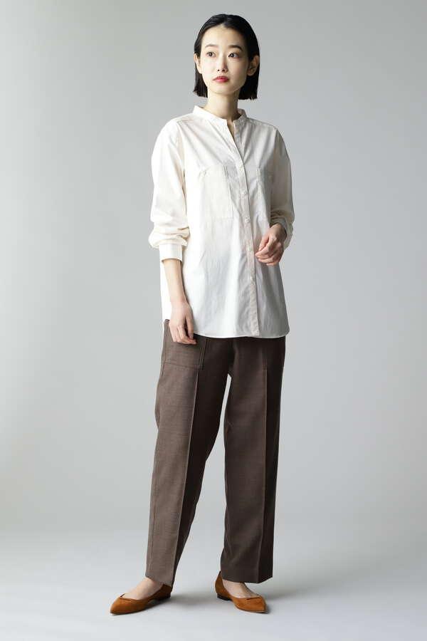 アウトポケットシャツ