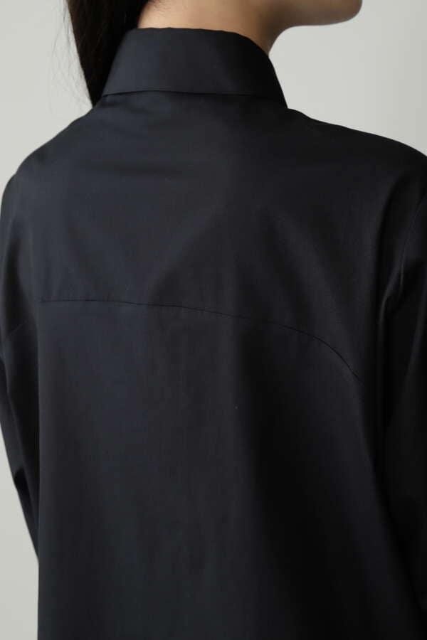 ブロードカシュクールシャツ