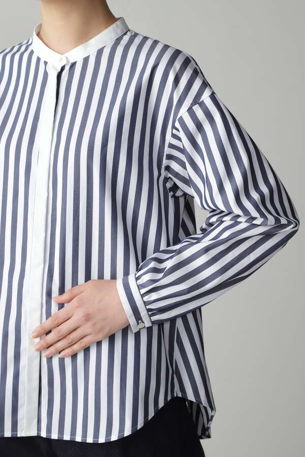 FINESOLOブロードシャツ