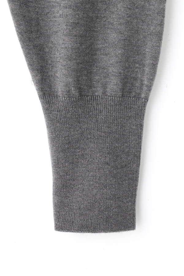 裾リブニットパンツ